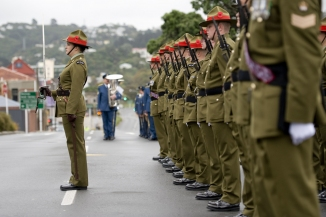 ANZAC Day service at the National War Memorial Flickr NZ Defence Force 12