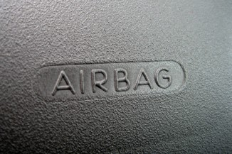 Airbag text logo