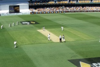 Australia v India Test match Cricket from the Gabba Day 1 15854604889