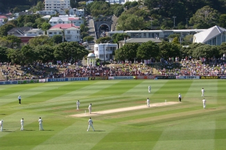 Basin Reserve Cricket