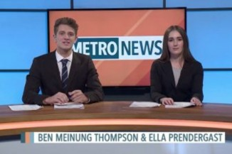 Ben Meinung-Thompson and Ella Prendergast