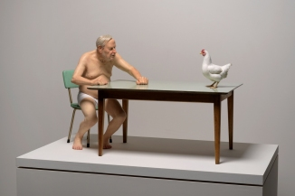 Chicken/man Mueck
