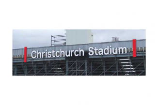 Christchurch Stadium Logo
