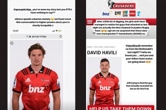 Crusaders slur Insta