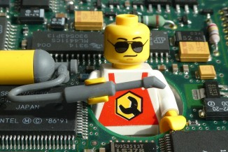 Lego Electrical person