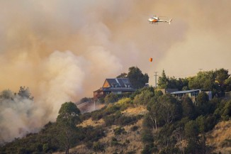 Port Hills Fire Photo