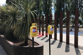 Sunscreen Dispensers