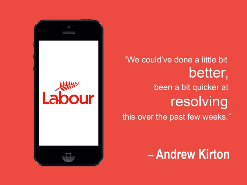 Labour Graphic