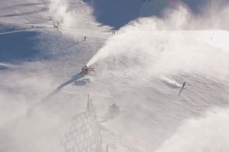 Mt Hutt Snow Guns