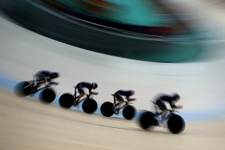 New Zealand mens team pursuit at the 2016 Summer Olympics