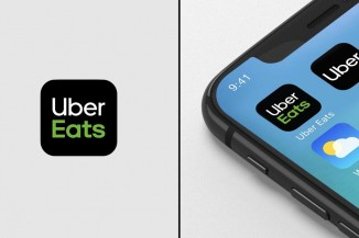 Uber Eats with Phone
