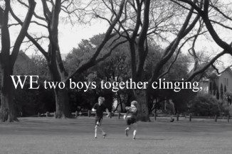 We Two Boys Together Clinging Poster