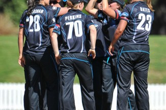 White Ferns huddle