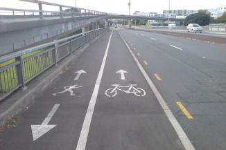 shared bike lane