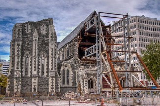 Cathedral Earthquake broken fallen Christchurch